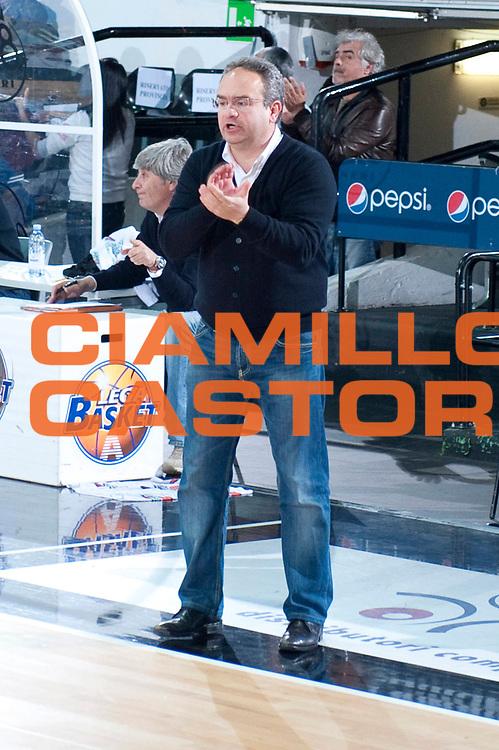 DESCRIZIONE : Caserta Lega A 2011-12 Otto Caserta Umana Venezia<br /> GIOCATORE : Stefano Sacripanti<br /> SQUADRA : Otto Caserta<br /> EVENTO : Campionato Lega A 2011-2012<br /> GARA : Otto Caserta Umana Venezia<br /> DATA : 25/04/2012<br /> CATEGORIA : ritratto<br /> SPORT : Pallacanestro<br /> AUTORE : Agenzia Ciamillo-Castoria/G.Buco<br /> Galleria : Lega Basket A 2011-2012<br /> Fotonotizia : Caserta Lega A 2011-12 Otto Caserta Umana Venezia<br /> Predefinita :