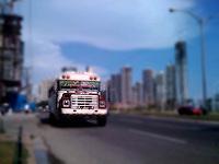 Buses Diablo Rojos, de la Ciudad de Panamá.