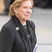 LUX/Luxemburg/20190504 - Funeral of HRH Grand Duke Jean/Uitvaart Groothertog Jean, KoninginAnne-Marie van Gtiekenland