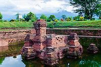 Java, East Java, Trowulan. Candi Tikus, this was the queens personal pool.