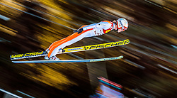 27.01.2017, Casino Arena, Seefeld, AUT, FIS Weltcup Nordische Kombination, Seefeld Triple, Skisprung, im Bild Mikko Kokslien (NOR) // Mikko Kokslien of Norway in action during his Competition Jump of Skijumping of the FIS Nordic Combined World Cup Seefeld Triple at the Casino Arena in Seefeld, Austria on 2017/01/27. EXPA Pictures © 2017, PhotoCredit: EXPA/ JFK