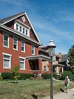 Clifton Gaslight District in Cincinnati