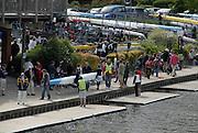 Maidenhead, United kingdom. General View,  GV's. of Maidenhead Rowing Club,  centre of activities associated with the Maidenhead Junior Regatta.RiverThames at Maidenhead.  Sunday  15/05/2011 .   [Mandatory Credit; Karon Phillips/Intersport-images]