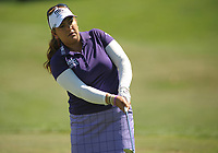 Bildnummer: 14402158  Datum: 01.09.2013  Copyright: imago/Icon SMI<br /> September 1, 2013: Lizette Salas warms up on the practice range prior to teeing off during final round play at the Safeway Classic at Columbia-Edgewater Country Club in Portland, Oregon. GOLF: SEP 01 LPGA Golf Damen - Safeway Classic - Round Four