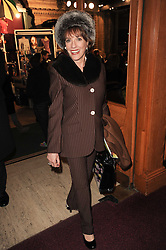 ESTHER RANTZEN at the gala opening night of Cirque du Soleil's Varekai at the Royal Albert Hall, London on 5th January 2010.