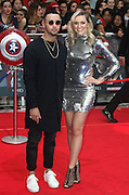 April 26, 2016 - Mason Noise and Larissa Eddie attending 'Captain America: Civil War' European Film Premiere at Vue Westfield in London, UK.<br /> ©Exclusivepix Media