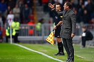 20-03-2016 VOETBAL:PSV-AJAX:EINDHOVEN<br /> Ajax trainer/Coach Frank de Boer <br /> <br /> Foto: Geert van Erven
