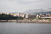 View towards Jebel Musa from Ceuta, Spanish territory in north Africa, Spain
