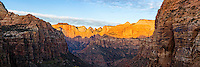 The Canyon Overlook in Zion National Park provides a dramatic panoramic view of this wonderful part of Southern Utah.