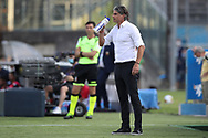 Brescia Calcio's Uruguayan Head coach Diego Lopez drinks from a water bottle on the touchline during the Serie A match at Stadio Mario Rigamonti, Brescia. Picture date: 27th June 2020. Picture credit should read: Jonathan Moscrop/Sportimage