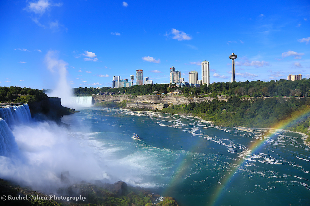 &quot;Niagara Falls and Rainbows&quot;<br />