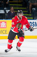 KELOWNA, CANADA - MAY 1: Keoni Texeira #44 of Portland Winterhawks skates against the Kelowna Rockets on May 1, 2015 at Prospera Place in Kelowna, British Columbia, Canada.  (Photo by Marissa Baecker/Getty Images)  *** Local Caption *** Keoni Texeira;