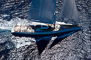 Salperton racing in the St. Barth Bucket regatta.