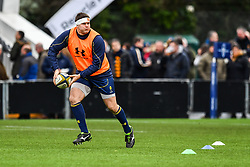 Ryan Bower of Worcester Warriors during the pre match warm up - Mandatory by-line: Craig Thomas/JMP - 27/01/2018 - RUGBY - Sixways Stadium - Worcester, England - Worcester Warriors v Exeter Chiefs - Anglo Welsh Cup