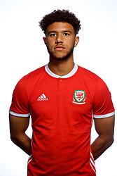 CARDIFF, WALES - Tuesday, September 4, 2018: Wales' Tyler Roberts. (Pic by David Rawcliffe/Propaganda)