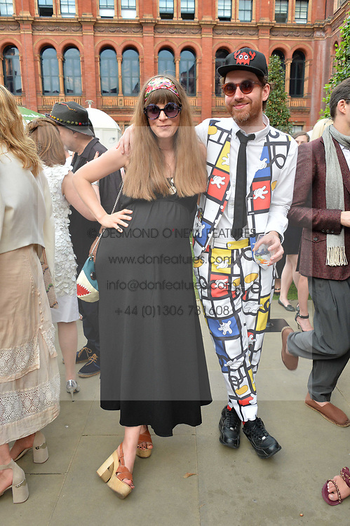 Philip Colbert and Charlotte Colbert at the V&A Summer Party 2017 held at the Victoria & Albert Museum, London England. 21 June 2017.<br /> Photo by Dominic O'Neill/SilverHub 0203 174 1069 sales@silverhubmedia.com