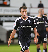Paul McGowan - Dunfermline Athletic v Dundee - Scottish League Cup at East End Park<br /> <br />  - &copy; David Young - www.davidyoungphoto.co.uk - email: davidyoungphoto@gmail.com