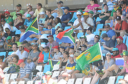 Pretoria 26-12-18. The 1st of three 5 day cricket Tests, South Africa vs Pakistan at SuperSport Park, Centurion. Day 1. Crowds stay in the shade as temperatures were in the upper 30's. Picture: Karen Sandison/African News Agency(ANA)