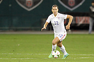 20 October 2014: Lauren Holiday (USA). The United States Women's National Team played the Haiti Women's National Team at RFK Memorial Stadium in Washington, DC in a 2014 CONCACAF Women's Championship Group A game, which serves as a qualifying tournament for the 2015 FIFA Women's World Cup in Canada. The U.S. won the game 6-0.