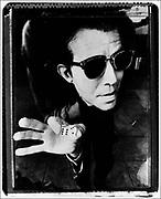 Tom Waits, NME photoshoot, Los Angeles, USA, 1980s.