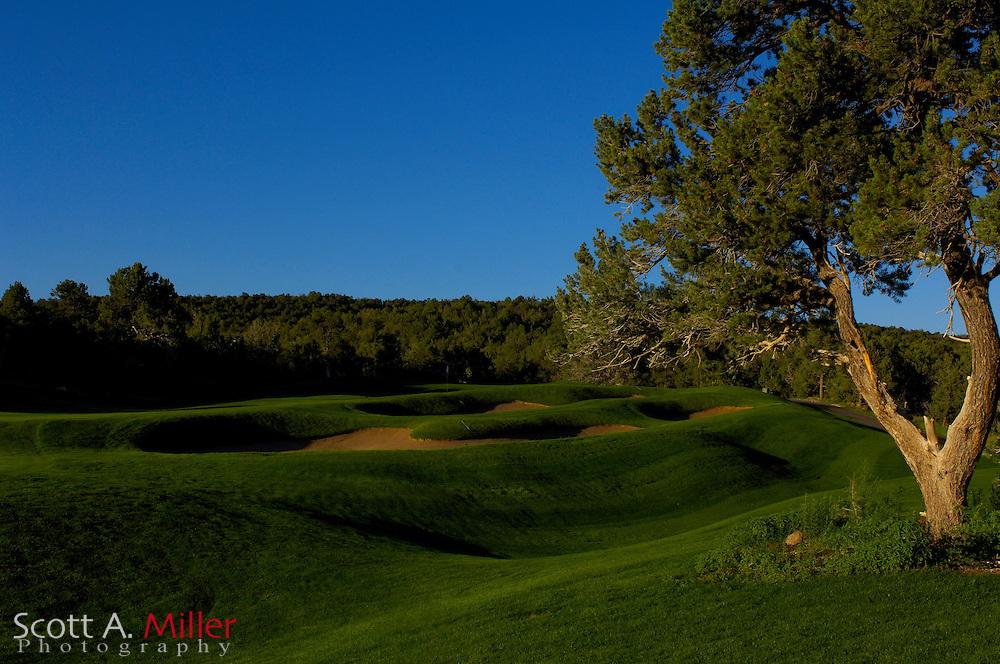 Espanola, N.M.:  July 13, 2006 -  No. 3 on Paa Ko Ridge Golf Club in Sandia Park, N.M....© 2006 Scott A. Miller