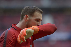 March 11, 2018 - Madrid, Madrid, Spain - Jan Oblak of Atletico de Madrid during a match between Atletico de Madrid vs Celta de Vigo at Wanda Metropolitano Stadium on Febraury 18, 2018 in Madrid, Spain. (Credit Image: © Patricio Realpe/NurPhoto via ZUMA Press)