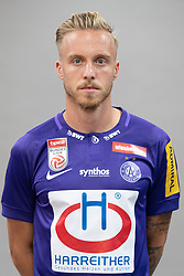 16.07.2019, Generali Arena, Wien, AUT, 1. FBL, FK Austria Wien, Fototermin, im Bild James Jeggo // James Jeggo during the official team and portrait photoshooting of tipico Bundesliga Club FK Austria Wien for the upcoming Season at the Generali Arena in Vienna, Austria on 2019/07/16. EXPA Pictures © 2019, PhotoCredit: EXPA/ Florian Schroetter