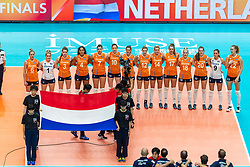 19-10-2018 JPN: Semi Final World Championship Volleyball Women day 20, Yokohama<br /> Serbia - Netherlands / Team Netherlands