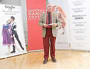 National Dance Awards.Announcement of Nominations.9th November 2012 .at The Place, London, Great Britain ..Peter Cargin.Critics' Circle . ..Photograph by Elliott Franks..Tel 07802 537 220 .elliott@elliottfranks.com..2012©Elliott Franks.Agency space rates apply