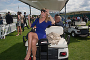 CHRISTIE BRINKLEY, Cartier International Polo. Smiths Lawn. Windsor. 24 July 2011. <br /> <br />  , -DO NOT ARCHIVE-© Copyright Photograph by Dafydd Jones. 248 Clapham Rd. London SW9 0PZ. Tel 0207 820 0771. www.dafjones.com.