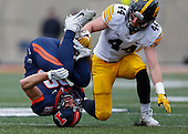 NCAA Football - Illinois Fighting Illini vs Iowa Hawkeyes - Champaign, IL