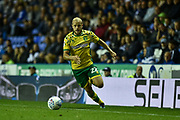 Goal scorer Norwich City Forward, Teemu Pukki (22) during the EFL Sky Bet Championship match between Reading and Norwich City at the Madejski Stadium, Reading, England on 19 September 2018.