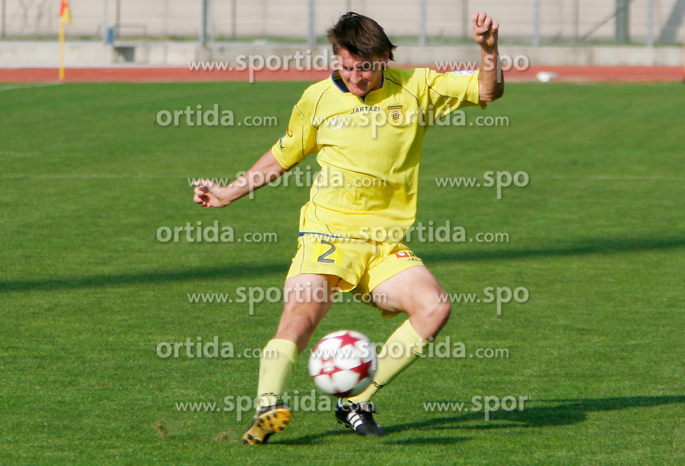 Andraz Kirm of Domzale during football match between ND HIT Gorica and NK Domzale of Simobil 1st Slovenian football League 2005/2006, on October 15, 2005, in Sports park, Gorica, Slovenia. (Photo By Vid Ponikvar / Sportida.com)