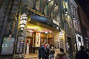 Historisches Kino Tuschinski , Nacht, Amsterdam, Holland, Niederlande