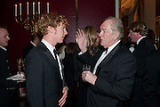 BENEDICT CUMMERBATCH; SIR MICHAEL GAMBON, 56th London Evening Standard Theatre Awards. Savoy Hotel. London. 28 November 2010.  -DO NOT ARCHIVE-© Copyright Photograph by Dafydd Jones. 248 Clapham Rd. London SW9 0PZ. Tel 0207 820 0771. www.dafjones.com.