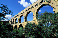France - Provence - Gard - Pont du Gard