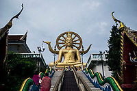 A view of the Big Buddha Statue in Koh Samui, Thailand.