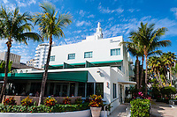 US, Florida, Miami Beach. The Surfcomber Hotel.