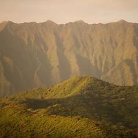 Koolau Mountains from Kaneohe Bay