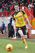 Jamie Murphy during the Sky Bet League 1 match between Crawley Town and Sheffield Utd at Broadfield Stadium, Crawley, England on 28 February 2015. Photo by David Charbit.