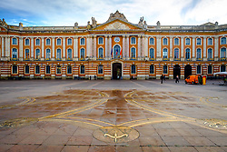 A general view of the Place du Capitole, Toulouse, France<br /> <br /> (c) Andrew Wilson | Edinburgh Elite media