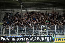 24.04.2019, TGW Arena, Pasching, AUT, 1. FBL, LASK vs SK Puntigamer Sturm Graz, Meistergruppe, 27. Spieltag, im Bild SK Puntigamer Sturm Graz feiert in Pasching am Mittwoch, 24. April 2019, während der Meisterrunde, 5. Spieltag der tipico-Bundesliga-Begegnung zwischen LASK Linz und SK Puntigamer Sturm Graz in Pasching. // during the tipico Bundesliga Master group, 27th round match between LASK and SK Puntigamer Sturm Graz at the TGW Arena in Pasching, Austria on 2019/04/24. EXPA Pictures © 2019, PhotoCredit: EXPA/ Reinhard Eisenbauer