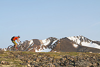 Rider - Derek Crowe, Trail Name - Montana Mountain, Carcross Yukon