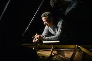 David Goldblatt Portrait Session at the piano