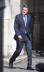 © Licensed to London News Pictures. 17/06/2019. London, UK. GAVIN WILLIAMSON MP is seen at the Houses of Parliament in London. Boris Johnson has cemented his position as favourite to become the next Prime Minster after winning a landslide in the first round of the conservative party's leadership race. Photo credit: Ben Cawthra/LNP