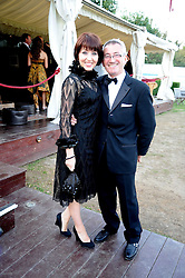 ALAN & LIZ WYATT at the annual Ham Polo Club Summer Ball held at the club, Petersham Road, Richmond, Surrey on 25th July 2008.<br /> <br /> NON EXCLUSIVE - WORLD RIGHTS