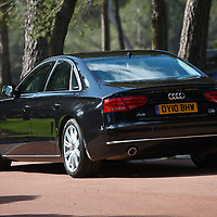 2010 Audi A8 FSi, A8 Launch Le Castellet France