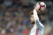 Gerard Pique (ESP) at line out during the Friendly Game football match between France and Spain on March 28, 2017 at Stade de France in Saint-Denis, France - Photo Stephane Allaman / ProSportsImages / DPPI