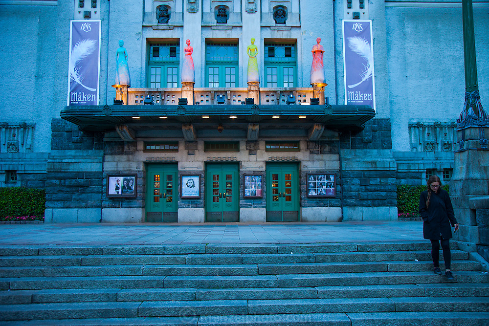 Theater, Bergen, Norway.