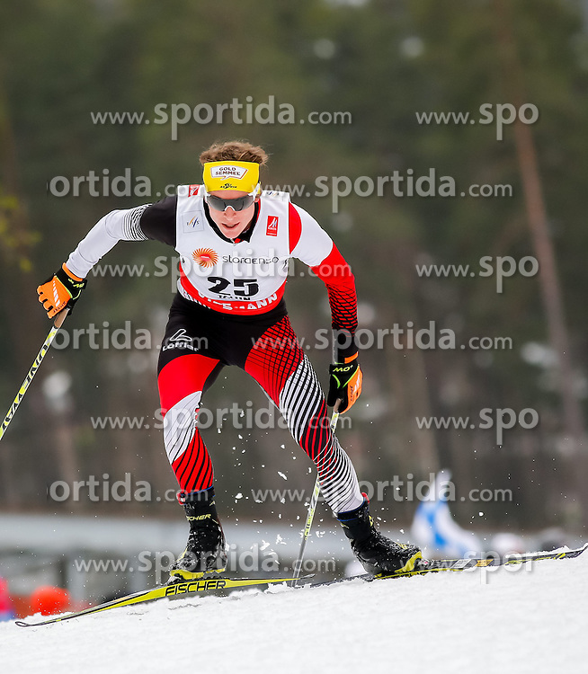 25.02.2015, Lugnet Ski Stadium, Falun, SWE, FIS Weltmeisterschaften Ski Nordisch, Falun 2015, Langlauf, Herren, 15km, im Bild Bernhard Tritscher (AUT) // Bernhard Tritscher of Austria during the Mens 15km Cross Country Race of the FIS Nordic Ski World Championships 2015 at the Lugnet Ski Stadium in Falun, Sweden on 2015/02/25. EXPA Pictures &copy; 2015, PhotoCredit: EXPA/ Minkoff<br /> <br /> *****ATTENTION - OUT of GER*****